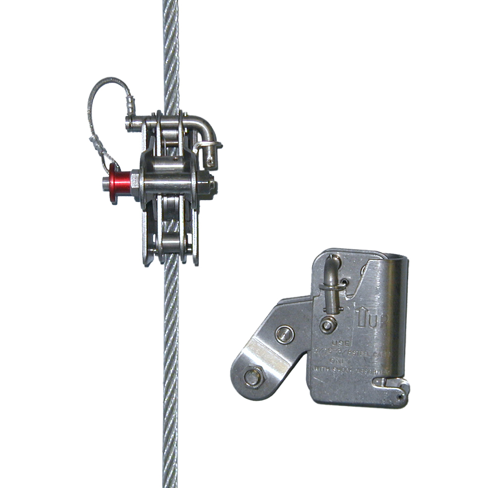 Wire Rope Grab 338WRG-3/8-MS | Preferred Safety