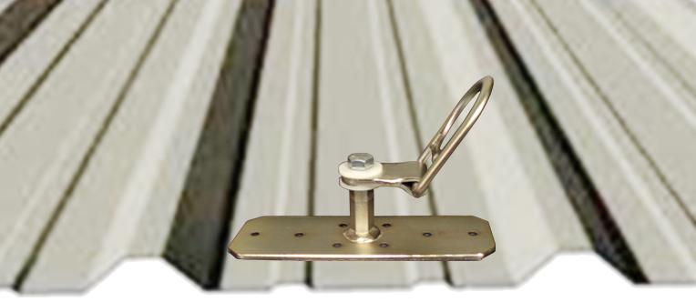 Metal Roof Tie Off Anchors Image Of Tie