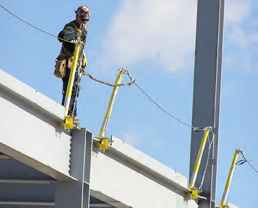 Beamguard Horizontal Lifeline System Preferred Safety